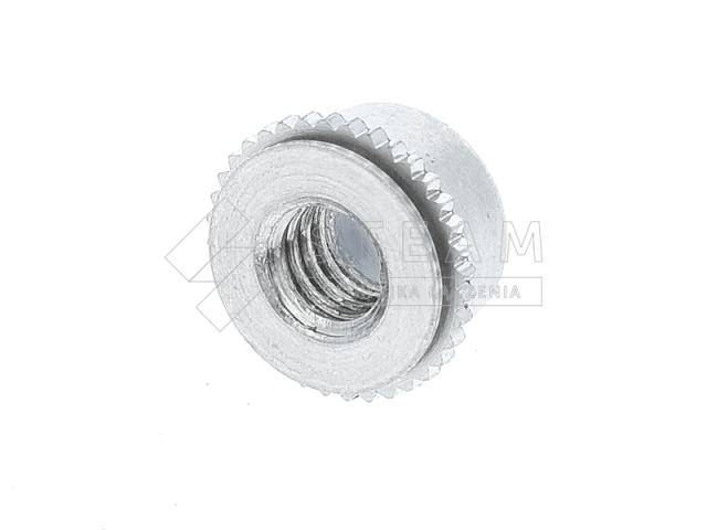 Nakrętki wciskane samohamowne z wkładką nylonową T-PL tył