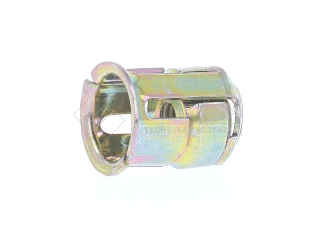 Nakrętka klatkowa okrągła - klatka: stal, nakrętka: stal, powłoka: ocynk biały - F-T410