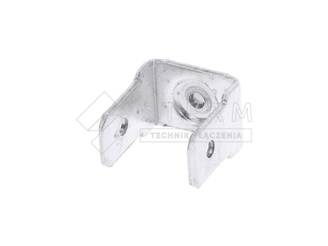 Styk konektorowy 2-stronny - aluminium