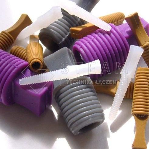 Korki gwintowane z kauczuku silikonowego